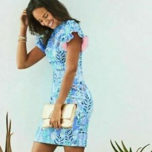 NWT Lilly Pulitzer KERSTIN STRETCH SHIFT DRESS